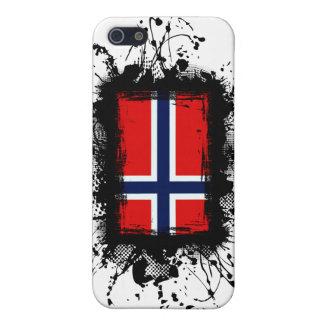 Bandera de Noruega iPhone 5 Carcasas