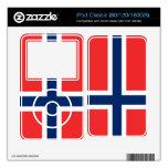 Bandera de Noruega iPod Classic Skin
