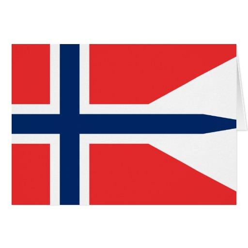 Bandera de Noruega, Noruega Felicitación