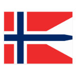 Bandera de Noruega, Noruega Postales