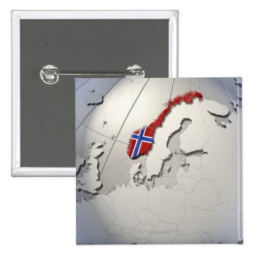 Bandera de Noruega Pin