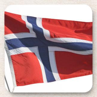 bandera de Noruega Posavaso