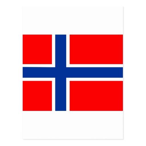 Bandera de Noruega Postal