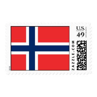 Bandera de Noruega Franqueo