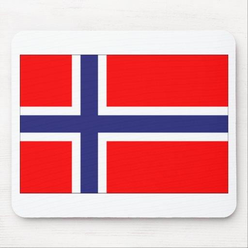 Bandera de Noruega Tapete De Raton