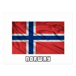 Bandera de Noruega Tarjetas Postales