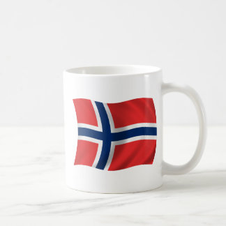 Bandera de Noruega Taza
