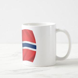 Bandera de Noruega Taza Clásica