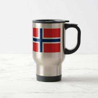 Bandera de Noruega Taza Térmica
