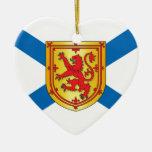Bandera de Nueva Escocia Adorno
