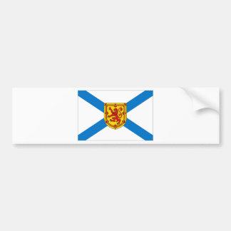 Bandera de Nueva Escocia Pegatina Para Auto