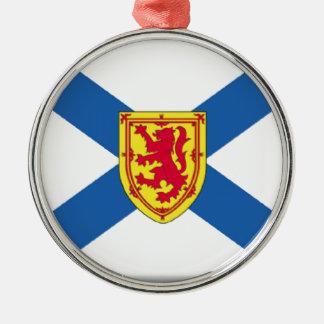 Bandera de Nueva Escocia (Canadá) Ornamento De Navidad