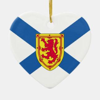 Bandera de Nueva Escocia (Canadá) Ornamente De Reyes