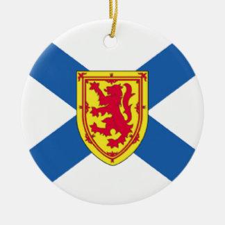 Bandera de Nueva Escocia (Canadá) Adorno De Reyes