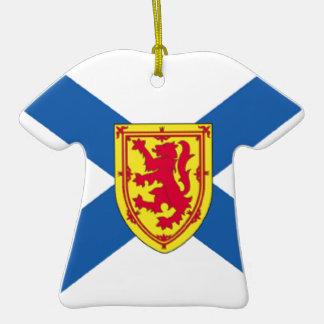 Bandera de Nueva Escocia (Canadá) Ornamentos De Reyes