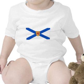 Bandera de Nueva Escocia, Canadá Trajes De Bebé