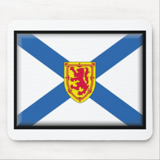 Bandera de Nueva Escocia (Canadá) Tapetes De Ratones