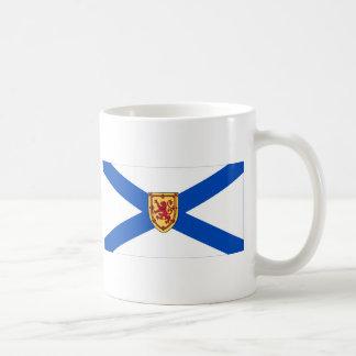 Bandera de Nueva Escocia, Canadá Taza