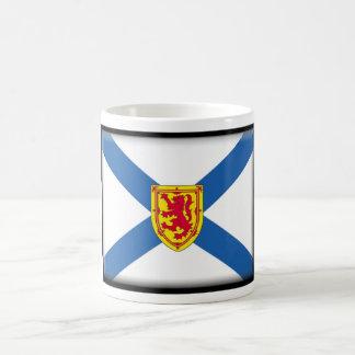 Bandera de Nueva Escocia (Canadá) Taza