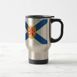 Bandera de Nueva Escocia (Canadá) Taza Térmica