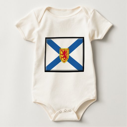 Bandera de Nueva Escocia (Canadá) Trajes De Bebé