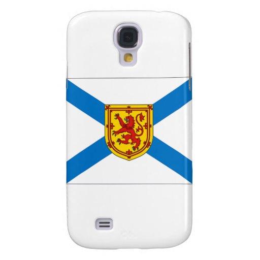Bandera de Nueva Escocia Funda Para Galaxy S4