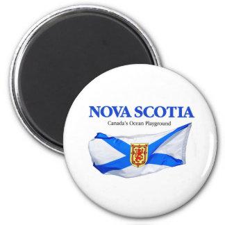 Bandera de Nueva Escocia Imán De Nevera