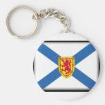 Bandera de Nueva Escocia Llavero