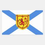 Bandera de Nueva Escocia Rectangular Altavoces