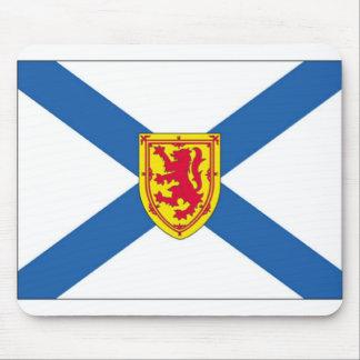 Bandera de Nueva Escocia Tapetes De Raton