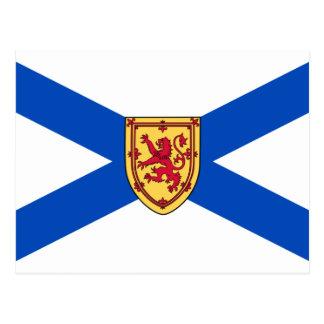 Bandera de Nueva Escocia Postales