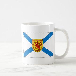 Bandera de Nueva Escocia Taza