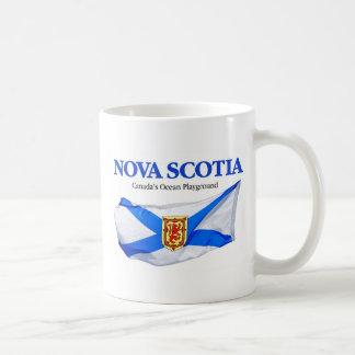 Bandera de Nueva Escocia Taza Clásica