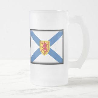 Bandera de Nueva Escocia Taza De Cristal