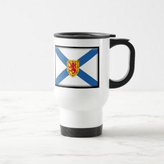 Bandera de Nueva Escocia Taza Térmica