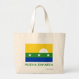 Bandera de Nueva Esparta con nombre Bolsa