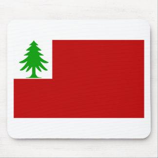 Bandera de Nueva Inglaterra Alfombrillas De Ratón