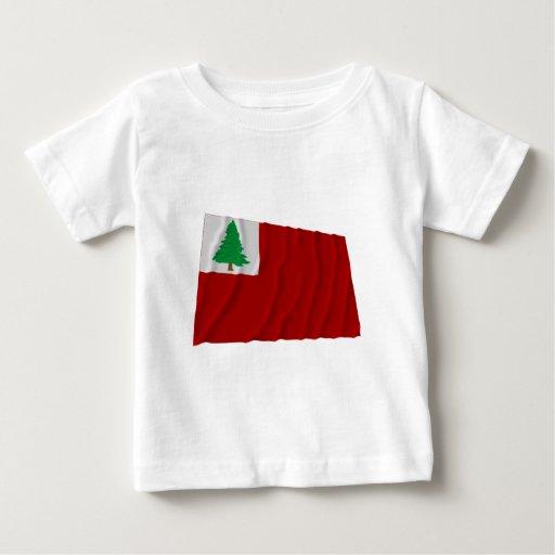 Bandera de Nueva Inglaterra Tee Shirt