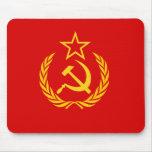 Bandera de nueva URSS, República Democrática del C Tapete De Raton