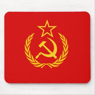 Bandera de nueva URSS República Democrática del C Tapete De Ratón