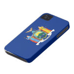 Bandera de Nueva York iPhone 4 Case-Mate Cárcasa
