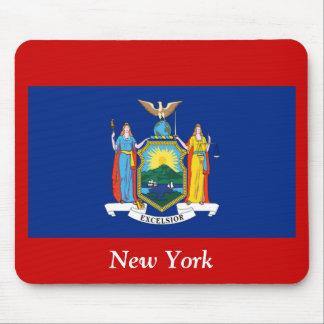 Bandera de Nueva York Mousepads