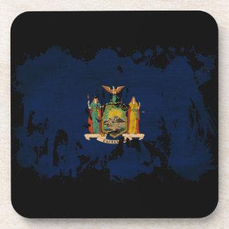 Bandera de Nueva York Posavaso