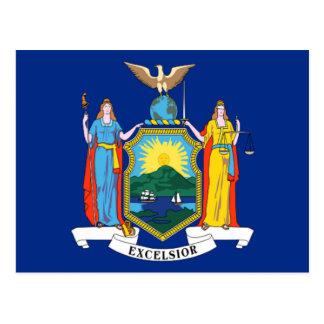 Bandera de Nueva York Postales