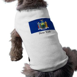 Bandera de Nueva York Playera Sin Mangas Para Perro