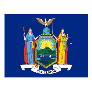Bandera de Nueva York Postal