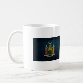Bandera de Nueva York Taza