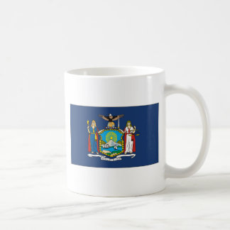 Bandera de Nueva York Tazas