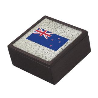 Bandera de Nueva Zelanda Caja De Recuerdo De Calidad