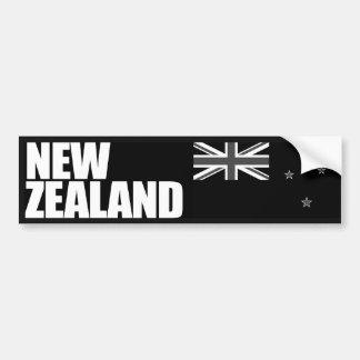 Bandera de Nueva Zelanda Pegatina Para Auto